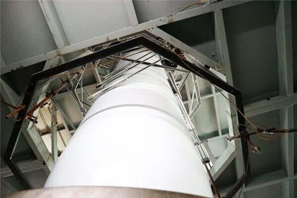 ビニール袋の製造装置中心部