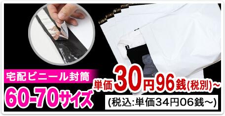 宅配ビニール袋 60-70サイズ